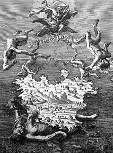 Tifeo oppresso dalla mole dell'isola d'Ischia