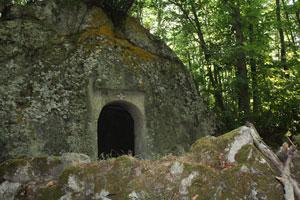Le case di pietra a Forio d'Ischia