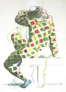 Aldo Pagliacci l'artista che trascorse un lungo periodo a Forio