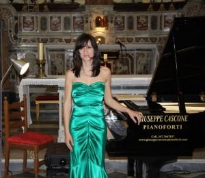 Ischia - Valeria Vetruccio a conferma dell'altissimo livello del Classica Festival Note Sul Mare 2010