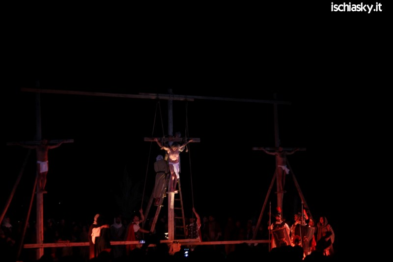 Rappresentazione della Passione di Cristo a Forio d'Ischia