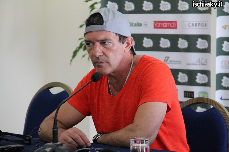 Antonio Banderas all'Ischia Global