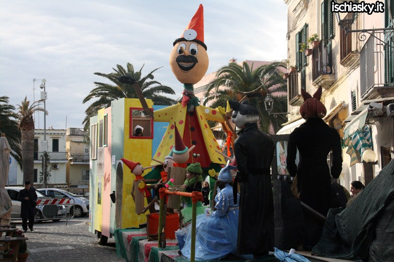 Carri di Carnevale a Forio d'Ischia
