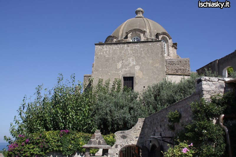 Il Castello Aragonese sull'isola d'Ischia
