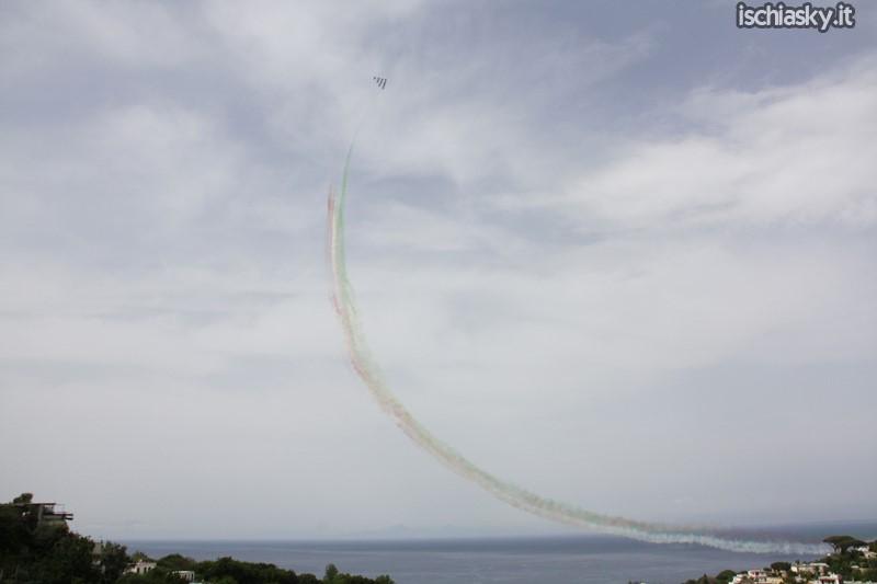 Le Frecce Tricolori ad Ischia