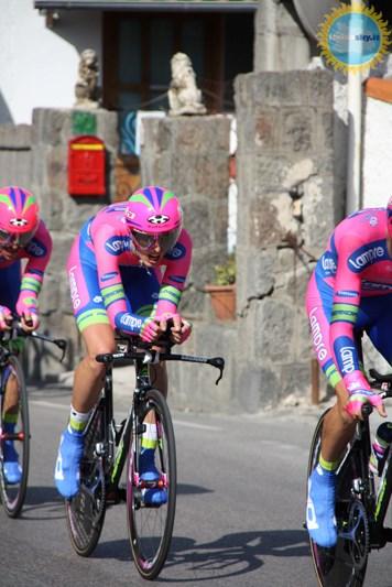 Il Giro d'Italia sull'isola d'Ischia