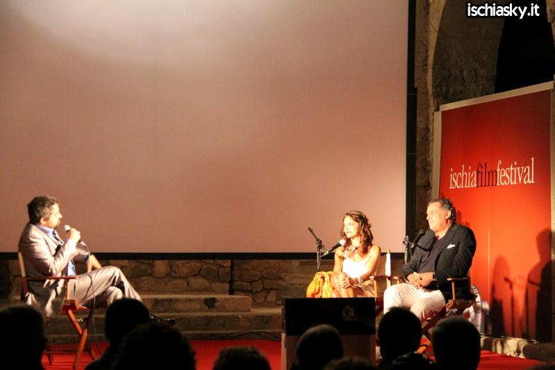 Ischia Film Festival - Andrea Roncato e Stefania Barca