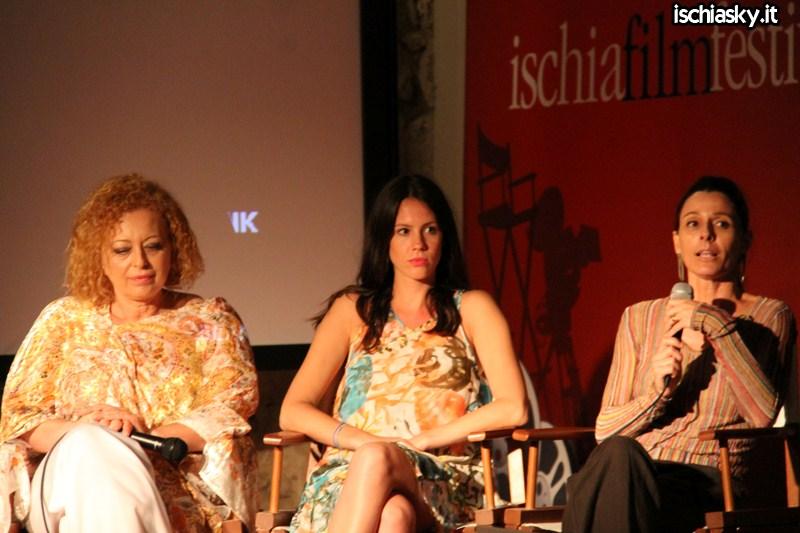 Ischia Film Festival - Chiara Marchegiani e Marina Pennafina