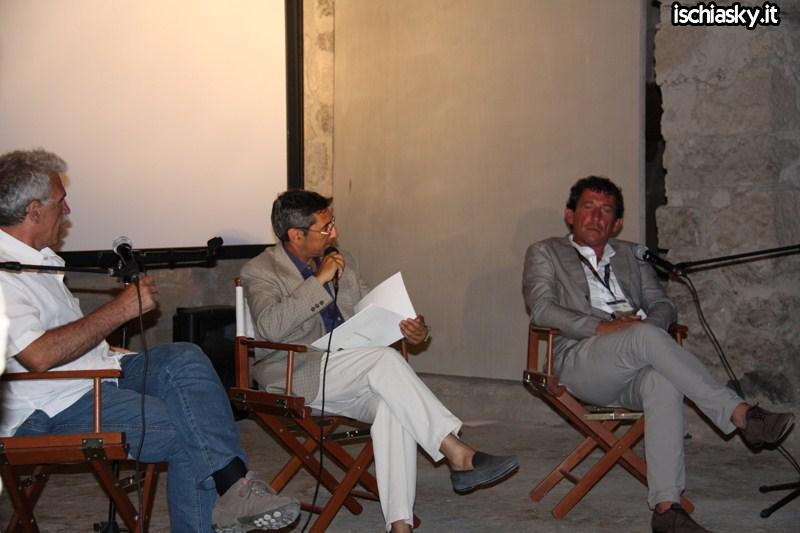 Ischia Film Festival - Pippo Mezzapesa e Claudio Casadio