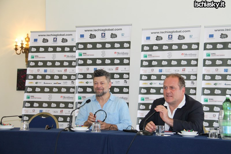 Andy Serkis all'Ischia Global