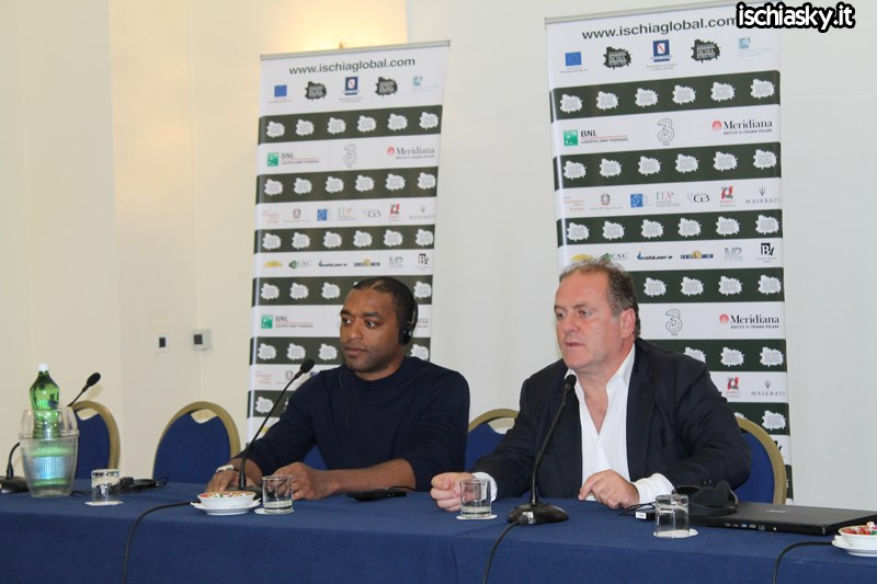 Chiwetel Ejiofor all'Ischia Global