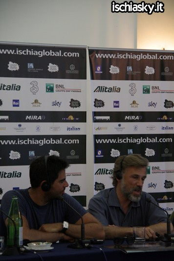 Ischia Global - Christoph Waltz - Eli Roth