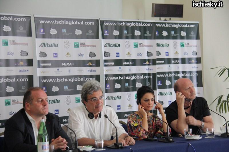 Ischia Global - Conferenza del 12 luglio