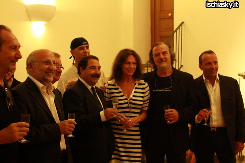 Ischia Global - Jacqueline Bisset a Palazzo Pezzillo