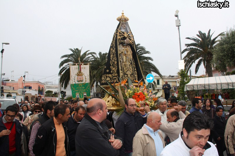 La Madonna Addolorata a Forio d'Ischia