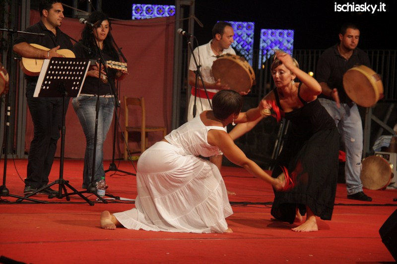 La Scuola del Folklore alla Festa di San Giovan Giuseppe