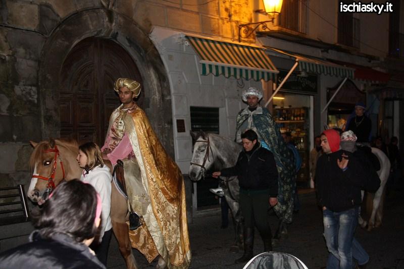 L'arrivo dei Re Magi a Forio d'Ischia