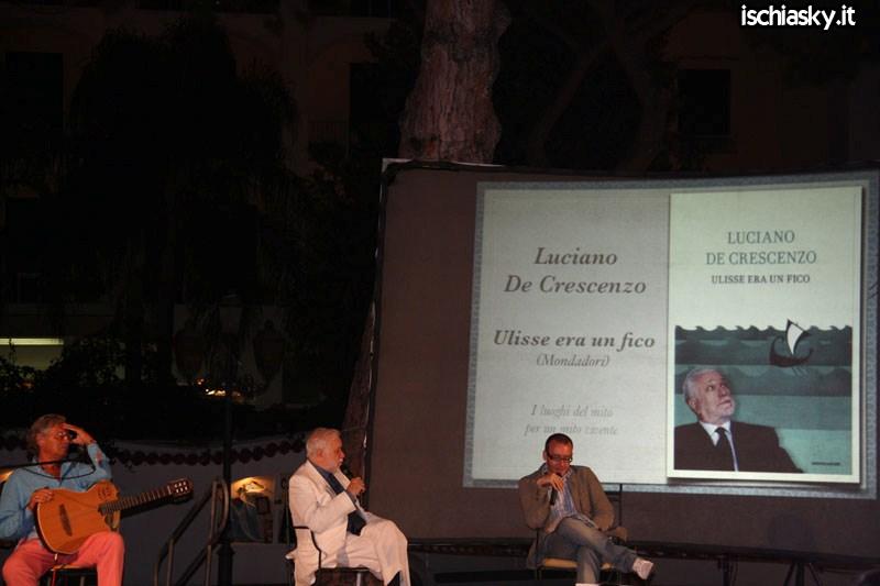 Luciano De Crescenzo a Libri D'Amare