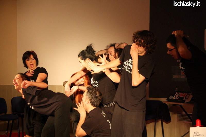 Match Race - Improvvisazione Teatrale - Ischia vs Roma