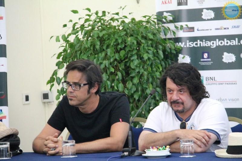 Michael Radford, Alessandro Siani, Lillo & Greg all'Ischia Global