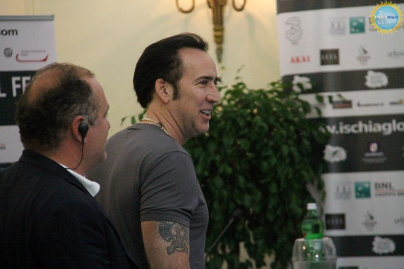 Nicolas Cage all'Ischia Global