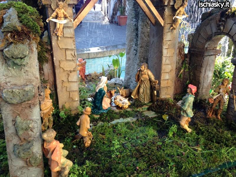 Il Presepe nella fontana a Forio d'Ischia 2013