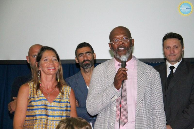 Samuel L. Jackson all'Ischia Global
