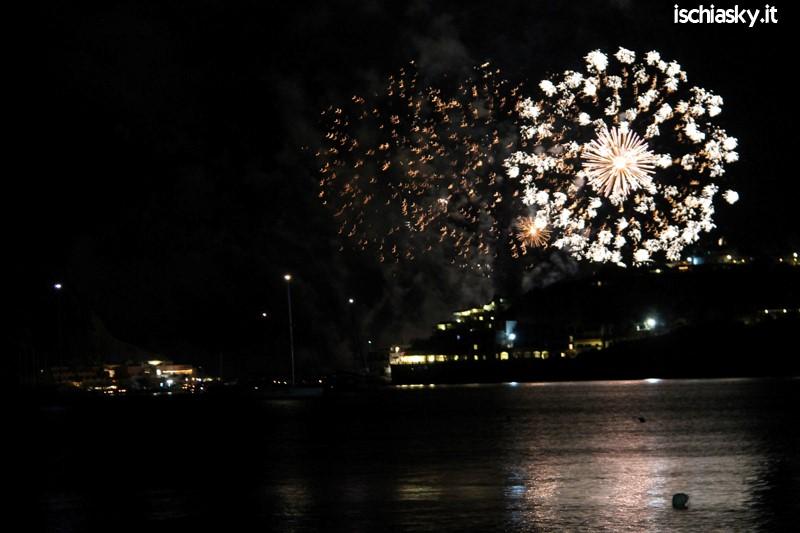 I fuochi d'artificio per la festa di San Michele 2014