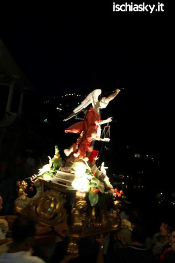 Festa di San Michele a Sant'Angelo d'Ischia 2015 - La Processione