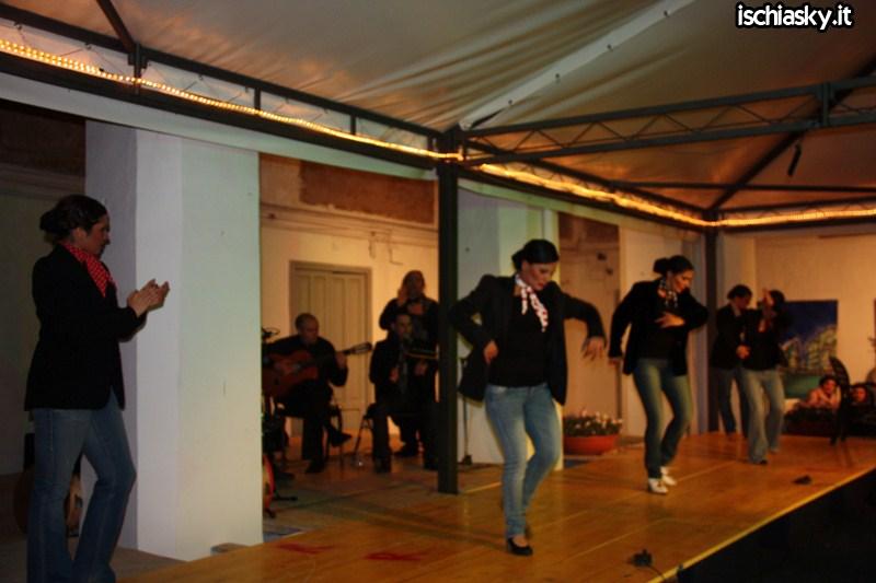 Tammorra e Flamenco di Dominga Andrias e la sua compagnia